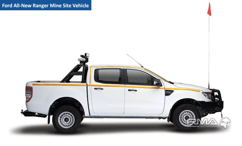 Ford All New Ranger Mine Site Vehicle Ford Fleet Solutions